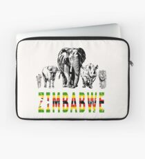 Africa's Big Five for Zimbabwe Fans Laptop Sleeve