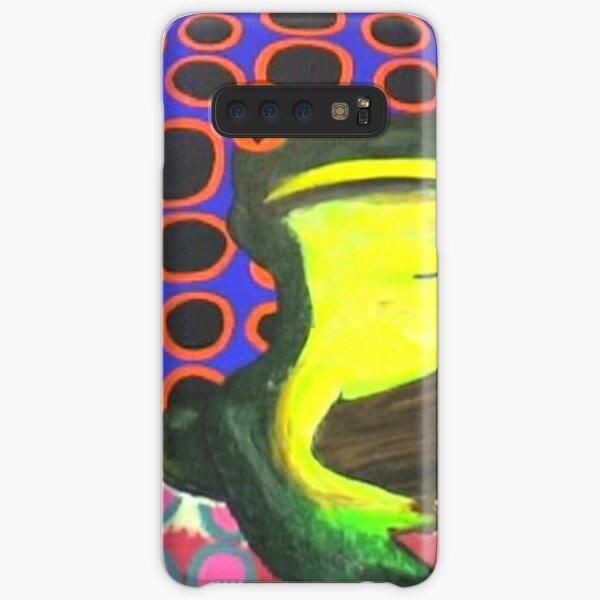 frog vs circles Samsung Galaxy Snap Case