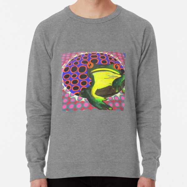 frog vs circles Lightweight Sweatshirt