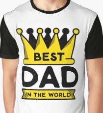 Best Dad in the World Graphic T-Shirt