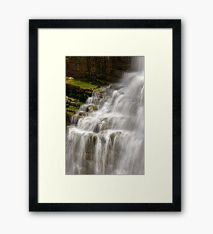 Detail - Chittenango Falls Framed Print