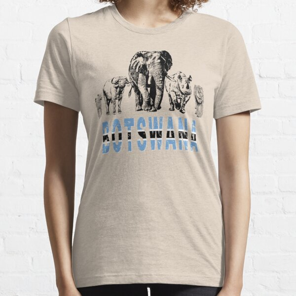 Africa's Big Five for Botswana Fans Essential T-Shirt