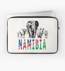 Africa's Big Five for Namibia Fans Laptop Sleeve