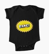 Bang onomatopoeia used in comic culture One Piece - Short Sleeve