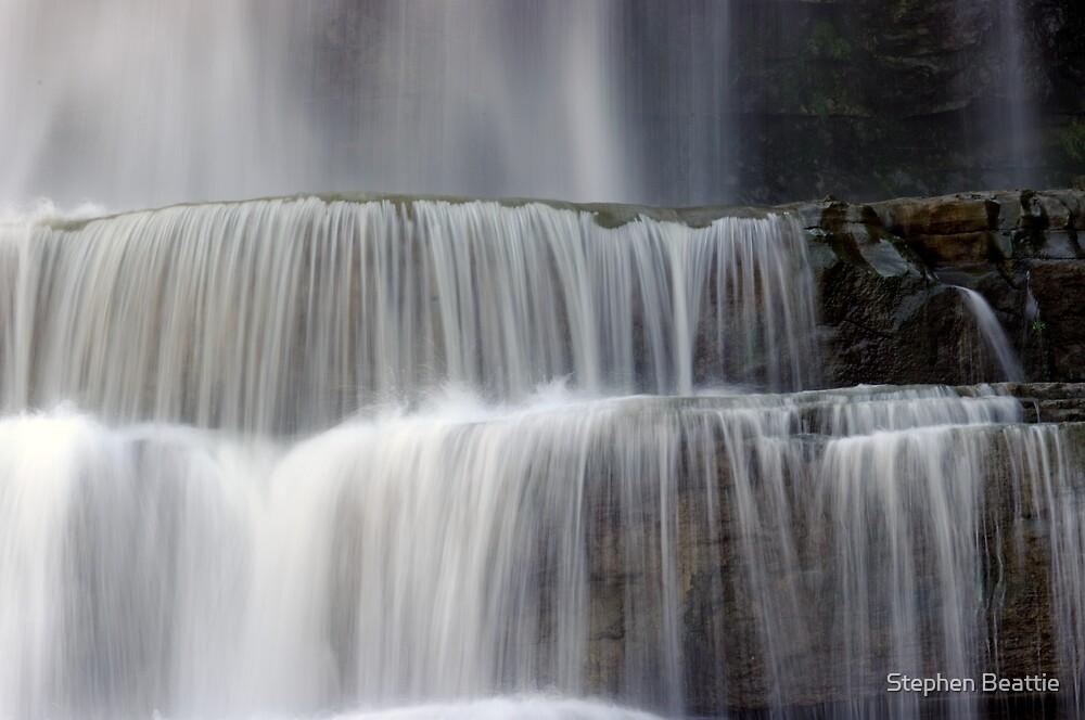 Cascades - Chittenango Falls by Stephen Beattie