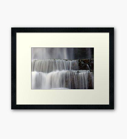 Cascades - Chittenango Falls Framed Print