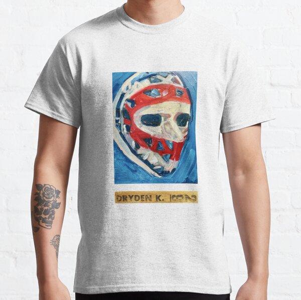Ken Dryden Mask (original painting) and stick Classic T-Shirt