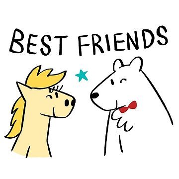 Mejores amigos de bonniepangart