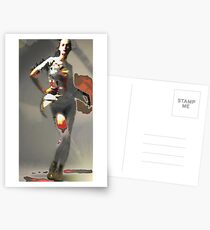 Collide Postcards