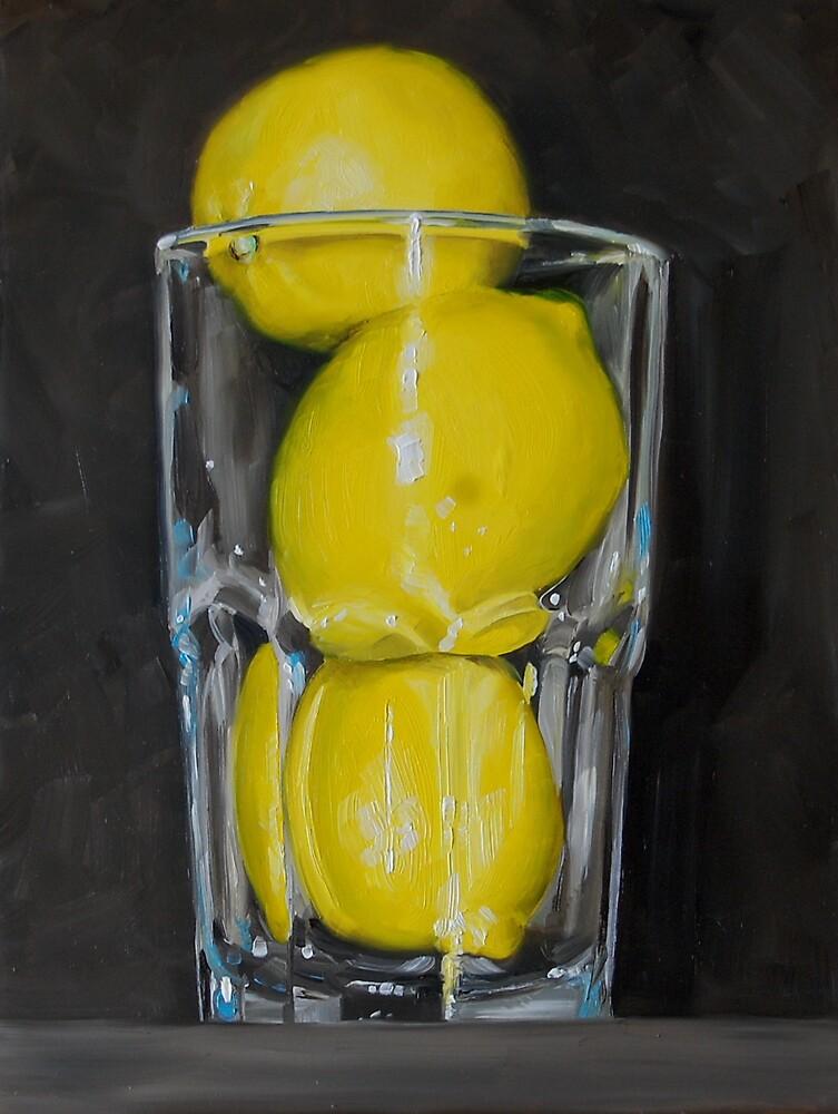 Glass of Lemons by Kevin Webster