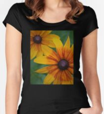 Echinacea Rust Women's Fitted Scoop T-Shirt