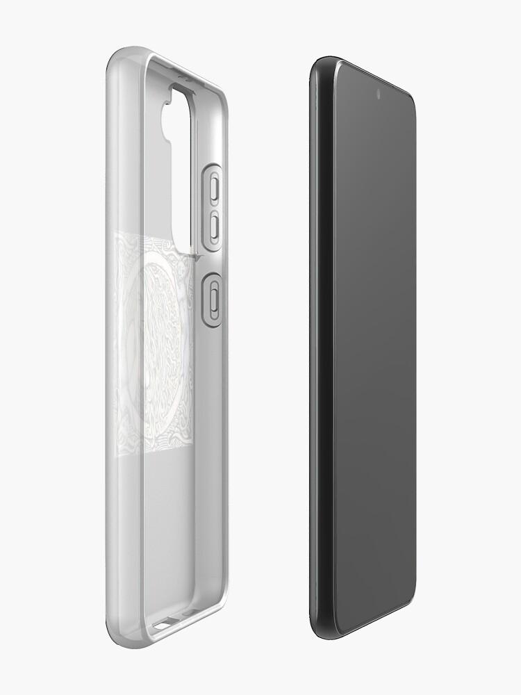 Alternate view of Donna Bella Case & Skin for Samsung Galaxy