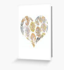 Trembling Heart Greeting Card