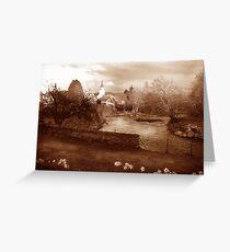 River Earn Comrie Scotland Greeting Card