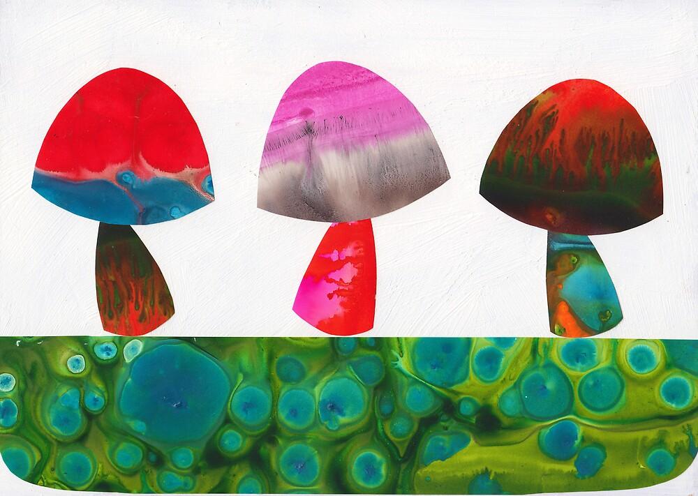 Little Mushies by KathyPanton