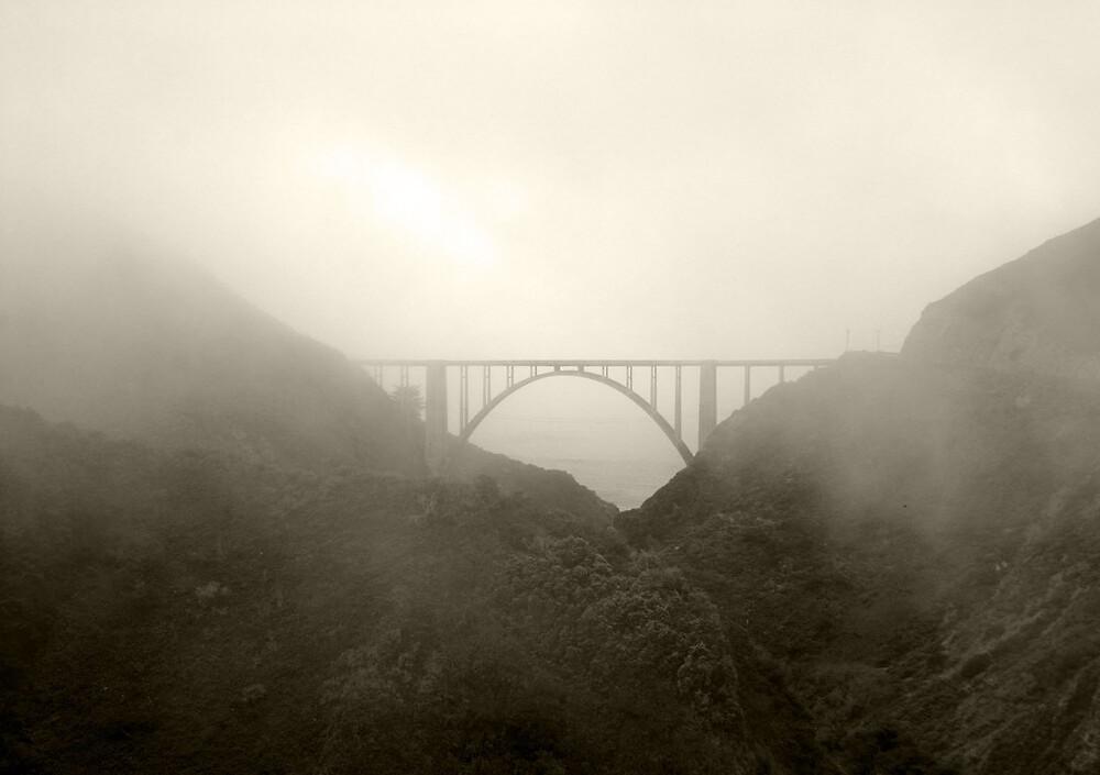 Foggy Bridge by Kathy Pantel