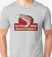 Outdoor-Mann-Becher, Hemden etc. (Last Man Standing) Slim Fit T-Shirt