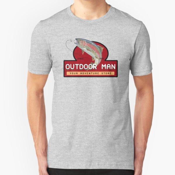 Outdoor Man Mug, Shirts etc. (Last Man Standing) Slim Fit T-Shirt