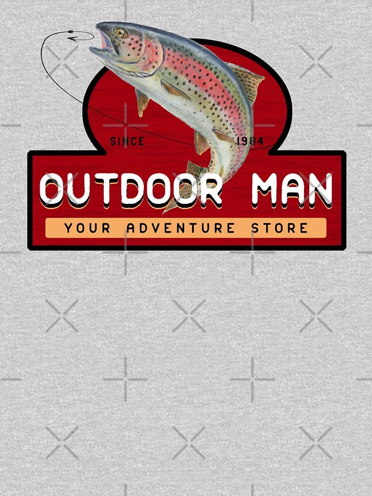 Outdoor Man Mug, Shirts etc. (Last Man Standing) by fandemonium