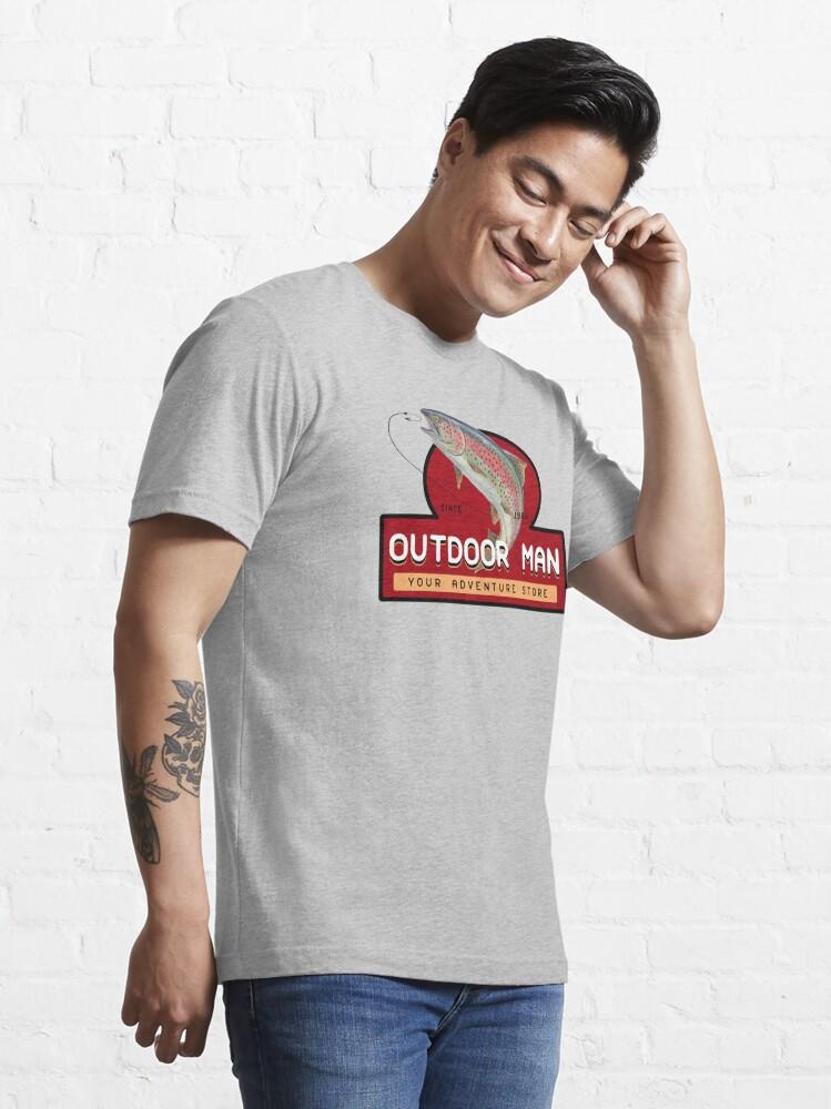Alternate view of Outdoor Man Mug, Shirts etc. (Last Man Standing) Essential T-Shirt