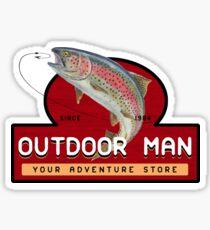 Outdoor Man Mug, Shirts etc. (Last Man Standing) Sticker