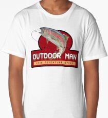 Outdoor Man Mug, Shirts etc. (Last Man Standing) Long T-Shirt