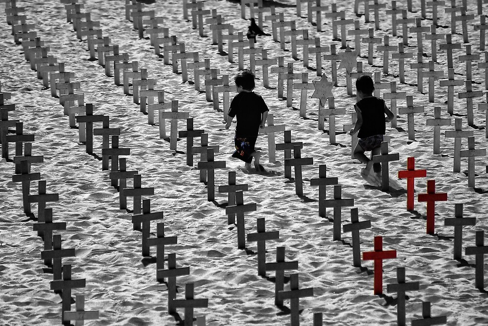' Crossing Crosses ' by Metrulzica