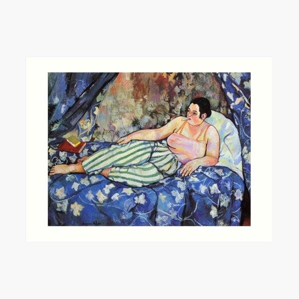 Vintage  Suzanne Valadon 1923 - The Blue Room Fine Art Art Print