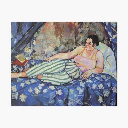 Vintage  Suzanne Valadon 1923 - The Blue Room Fine Art Art Board Print
