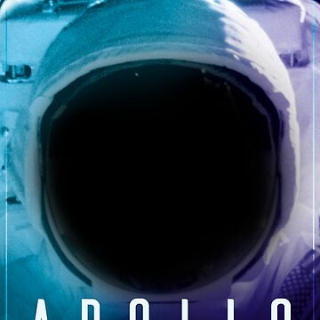 Apollo 11 Space Poster by WanderingFox