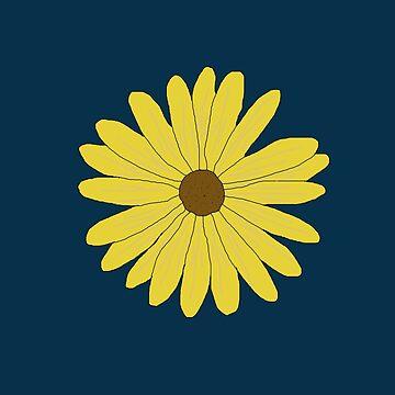 Yellow Flower by Bubucine