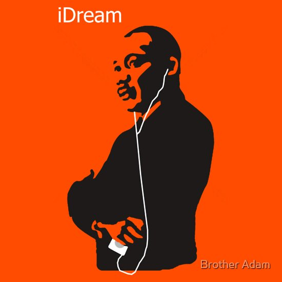 TShirtGifter presents: iDream - Martin Luther King