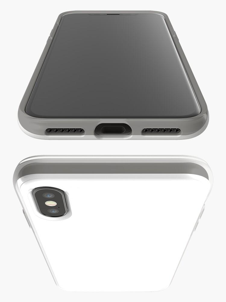 Vista alternativa de Vinilos y fundas para iPhone Blanco clásico llano
