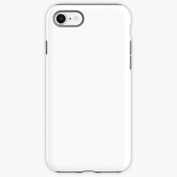 Plain Classic White  iPhone Tough Case