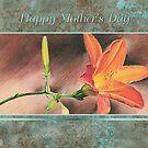 Mother's Day Daylily Card by jmgreenartworks