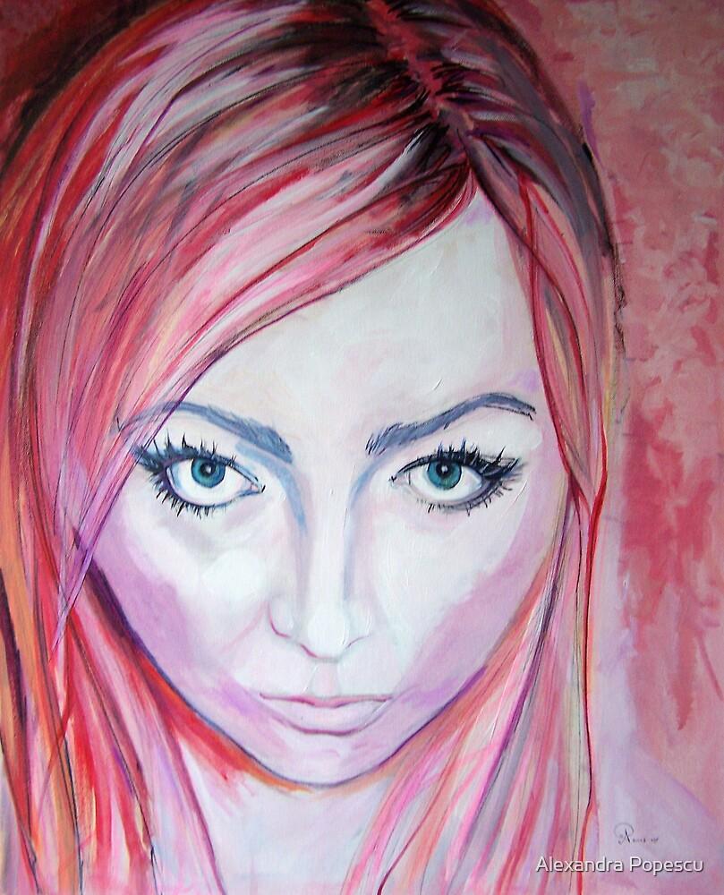 Selfportrait by Alexandra Popescu