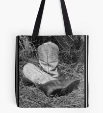 working boots Tote Bag