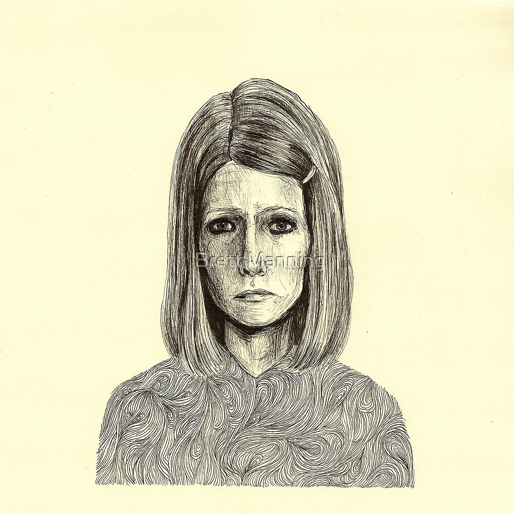 Margot Tenenbaum by Brett Manning
