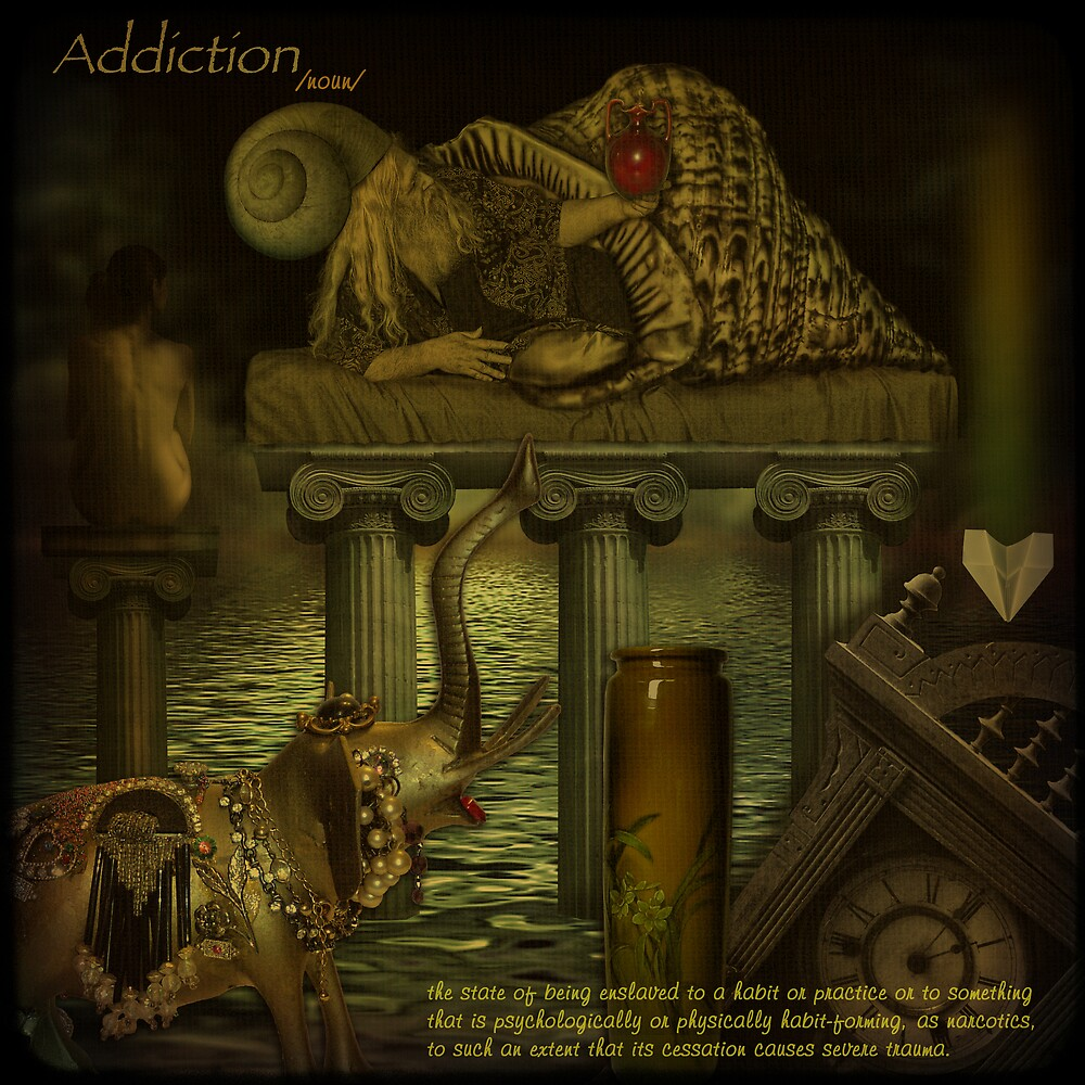 Addiction... or destiny of an antiques collector. by egold