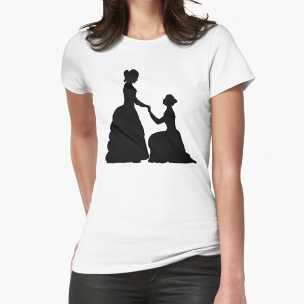 a decent proposal Fitted T-Shirt