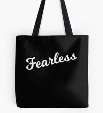Bolsa de tela Fearless