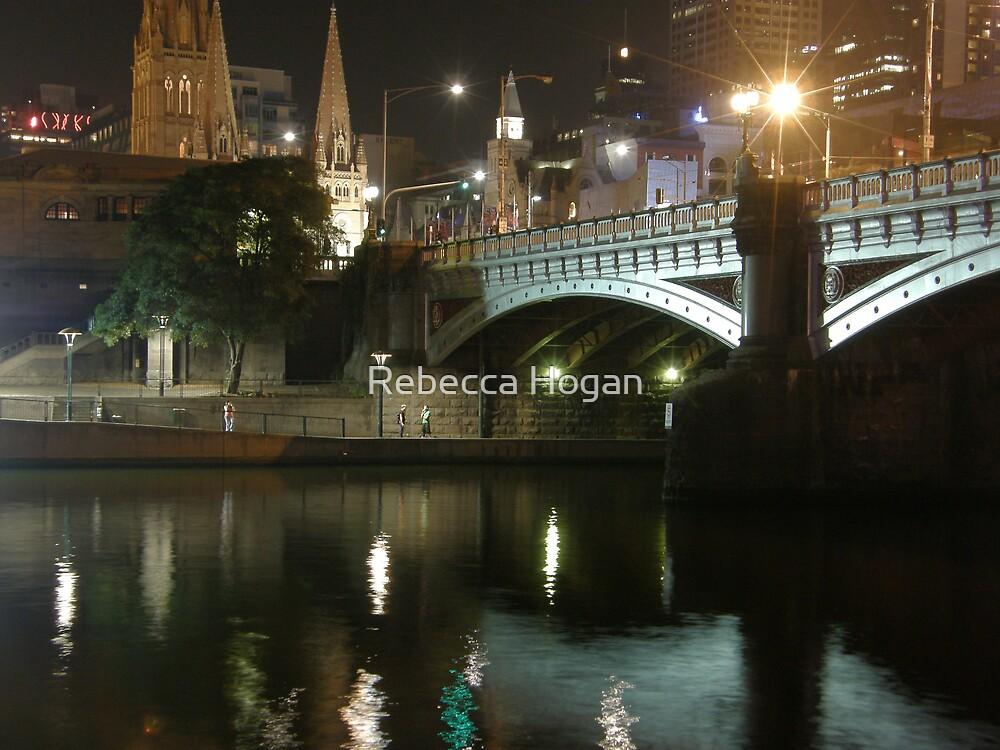 Bridge Over Murky Water by Rebecca Hogan
