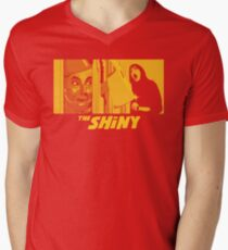 The Shiny Mens V-Neck T-Shirt