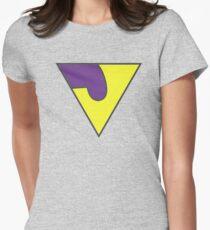 WONDERFUL TWIN FADED JAYNA Women's Fitted T-Shirt