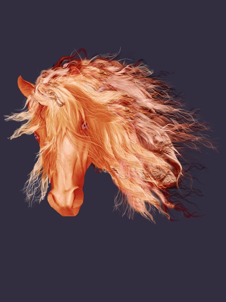 A horse called Copper  by valzart