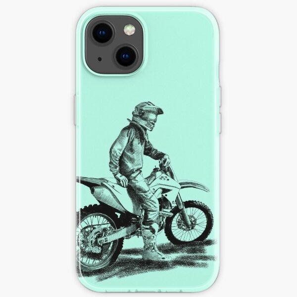motocross Coque souple iPhone