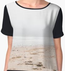 Mist over sandy beach Chiffon Top