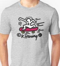 KEITH HARING - SKATE POP ART Unisex T-Shirt