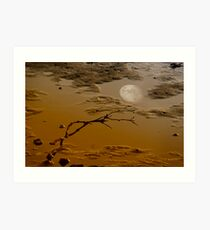 Moonscape V Art Print
