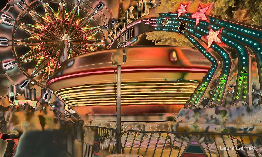 Carnival Night Lights by Laura Garnett